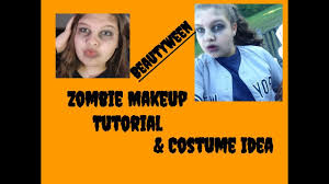 softball player halloween costume zombie makeup tutorial u0026 zombie baseball softball player costume