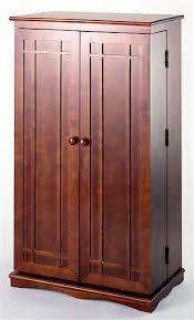 wood cd dvd cabinet cd612