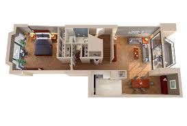 Floor Plan Of An Apartment The Envoy Floor Plans Columbia Plaza