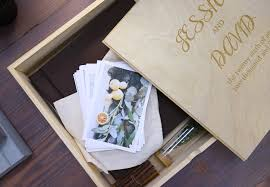 engraved wedding albums 10x10 wooden photo album box wedding album personalized