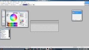 glassed taskbar in paint net mp4 youtube