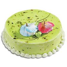 cakes online send pistachio pista cake 1 kg cakes online pistachio pista