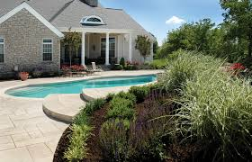 Landscaping Around Pools by Landscaping Around A Pool Tinkerturf