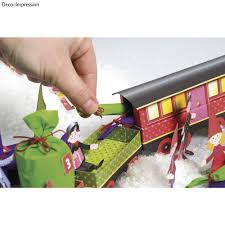 kinder bastelsets kids craft kits christmas train craft kit 1