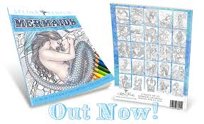 coloring is for all ages mermaid designs out now selina fenech