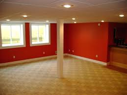 heres a bright basement color option best colors for basements