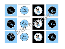 photo baby mickey mouse cupcakes image