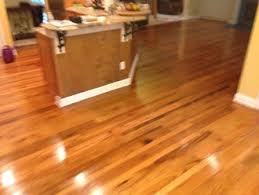 screen and tung recoat and white oak floors in pvb