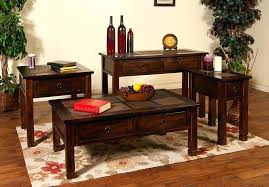 Coffee And End Table Sets Furniture Coffee Table Soundbubble Club