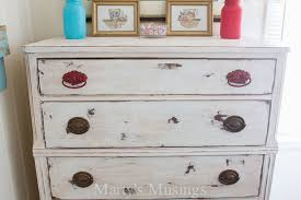 How To Shabby Chic Paint by Shabby Chic Painted Dressers Bestdressers 2017