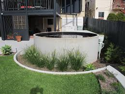 image result for precast circular plunge pool the castle