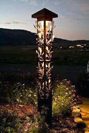 Bollard Landscape Lighting Bollard Garden Lights High Aluminum Outdoor Led Bollard Light For