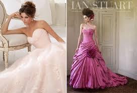 pink wedding dress pink wedding dresses confetticouk pink wedding gowns kylaza nardi