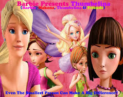 pin storm thumbelina barbie movies