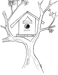 birdhouse coloring pages coloring pages wallpaper