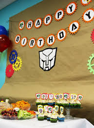 transformer party favors ethan turns 4 his rescue bots birthday party bash