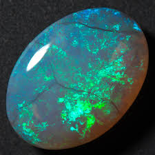 green opal lightning ridge opal 5 9ct treasurion com