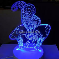 Iron Man Night Light Ep 3dyd 010 China Led Table Lamp Led 2d 3d Night Light