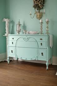 custom order antique dresser shabby chic distressed aqua blue