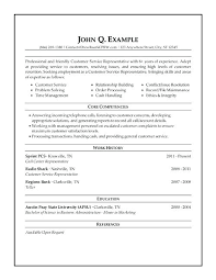 sample resume customer service cashier best example images on