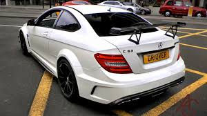 mercedes c63 black series mercedes c63 amg black series revs and sounds in