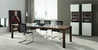 Contemporary Dining Room Table Wooden Furniture In A Contemporary Setting