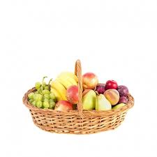 fruit in a basket assortment of fresh local fruits in a basket china delivery