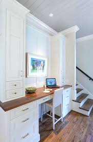 kitchen cabinet desk ideas desk gorgeous home office the placement that frames this
