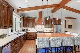 Kitchen And Bath Designers New Orleans C Kitchen Craftsman With Wood Beams And