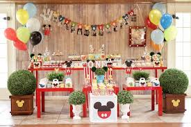 mickey mouse party kara s party ideas colorful mickey mouse 1st birthday party