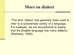 regional and social dialects ppt video online download