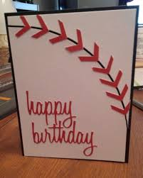 sheryl s crafting corner baseball sports theme birthday card