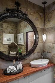 Guest Powder Room Master Bathroom Vanity An Open Plan Bathroom Designed In
