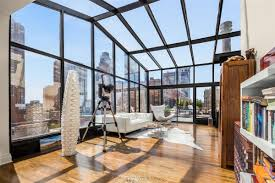 3 4m hell u0027s kitchen penthouse boasts the city u0027s only private