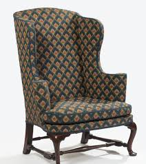 Pottery Barn Seagrass Chair by C1760 Queen Anne Easy Chair Boston Wal 47t 31w 15 20