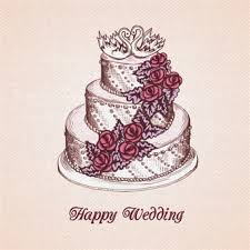 Wedding Wishes Cake Wedding Cake Vector Vectors Photos And Psd Files Free Download