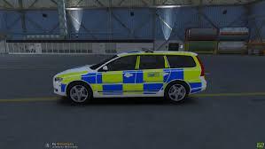 volvo v70 police scotland volvo v70 gta5 mods com