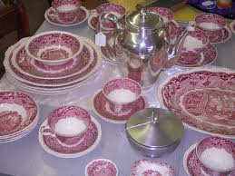 antique china by s vista pattern in for sale