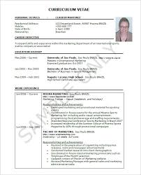 exle resume for resume template 42 free word excel pdf psd format