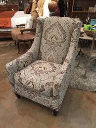 Upholstered Accent Chair Upholstered Accent Chair Invio Furniture Consignment