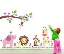 Animal Wall Decals For Nursery Nursery Animal Wall Decals Gutesleben