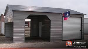 metal garage with storage area 22 u0027 x 31 u0027 shop metal buildings