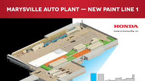 New Paint by Honda Planning 210 Million Paint Shop Upgrade Columbus