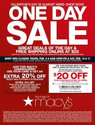 macys one day sale february 8 11 2017 http www olcatalog