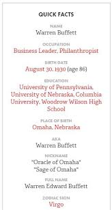 Warren Buffet Autobiography by Warren Buffett A Great Business Leader