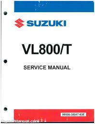 2015 suzuki vl800 volusia boulevard c50 c50t motorcycle service manual