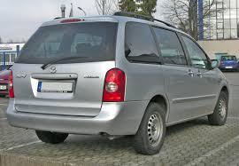 mazda minivan file mazda mpv 20090301 rear jpg wikimedia commons