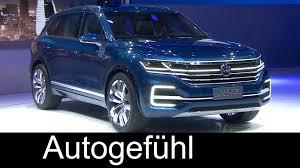 Future Vw Touareg Vw Touareg New Generation Concept Presentation Volkswagen T Prime