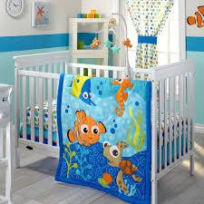 Teal Crib Bedding Sets Disney Baby Nemo 3 Piece Crib Bedding Set U0026 Reviews Wayfair