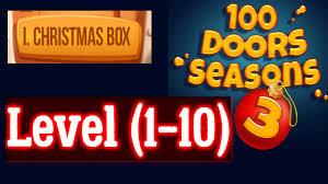 100 doors seasons 3 level 1 10 christmas box level 1 2 3 4 5 6 7